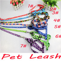 Wholesale Pet Leash Harness Rope Dog Leash Training Lead Collar Dog Rope amp Harness Rope Pet Products Pet Accessories Christmas gift