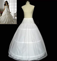 ai lines - Cheap White A line Wedding Dresses T Petticoats Hoops M Layers Underskirt Dress Crinoline AI