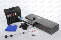 LLFA3054 versión Actualizada Profesional Afilador de cuchillos de Cocina Sistema de Corrección de ángulo de 4 Piedras Freeshipping Dropshipping