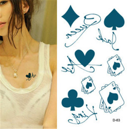 Wholesale Temporary Tattoos Fashion Waterproof Body Tattoo Sticker mix order