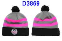 Wholesale New Arrival grey pink pink dolphin beanies hats anf caps with pom percent Acrylic Beanies Hats top quality D3869