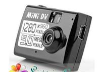 Plus petite haute définition de caméra vidéo numérique de Free Mini DV Livraison mondiale avec détection de mouvement + fonction Webcam de Super minuscule