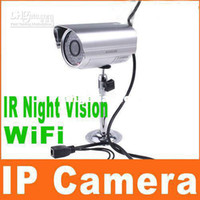 Wholesale Wireless IP Cameras Night Vision Webcam Surveillance System Security Camera Wifi Network IR Cut S111