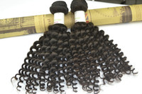 Wholesale Outre Curly Human Hair Extension On Sale Bundle to Brazilian Malaysian Peruvian Indian Eurasian European Hair