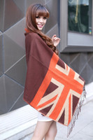 Wholesale 2013 winter chrismas gift warm cahsmere cotton UK flag print New Jack imitation cashmere scarf shawls Pashmina scarf women wool shawl scarve