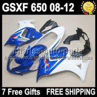 7gifts For SUZUKI GSX650F GSX 650F 08- 12 Q3292 Factory blue ...
