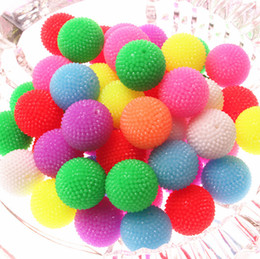 Wholesale 21mm Neon Effect Resin Rhinestones Berry Beads for Chunky Jewelry