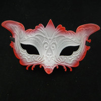 Wholesale sexy fox mask party supply masquerade ball halloween costume wedding favor EMS free shippinng