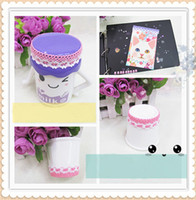 lace tape cotton fabric roll - DIY Adhesive Crafts Decal Floral Lace Border Sticker Fabric Cotton Tape Roll