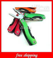 Wholesale Folding Pliers Stainless Steel Multi Function Pocket Foldable Pliers Toolkit Outdoor Universal Tool