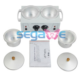 Wholesale DOUBLE Wax Warmer Electric Heater Dual Parrafin Hot Facial Skin Equipment SPA NV502