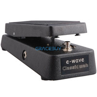 Wholesale E Wave E Wave Classic Wah Volume Pedal Volume Controller Guitar effects Pedal Rocker Pedal Toe press Switch Controls Chord Wah Vol NEW