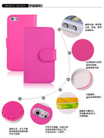 Cheap Leather Iphone 5 Flip Cover Best For Apple iPhone For Christmas Leather Case