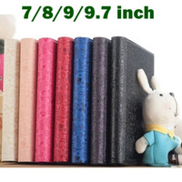 Wholesale Universal inch inch inch inch PU Leather Folio Case Skin Stand Cover For Android Tablet PC MID High Quality Little Witch style