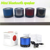 Wholesale MINI Speaker Portable Wireless Bluetooth Speaker Multi color S10 with retail box pack Via DHL