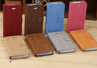 Wholesale Bamboo pattern Leather case cover Phone protective shell for iphone4S G