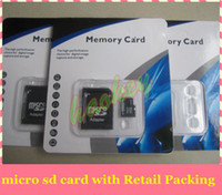Wholesale Retail Packing OEM High Speed MicroSD GB GB GB GB GB TF Card Memory Card free SD Adapter