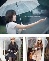 automatic umbrella price - Fashion thickening transparent umbrella eco friendly performance bumbershoot sun parasol Factory price