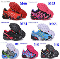 Wholesale New arrival Women s Running shoes Salomon Shoes for women Salomon speedcross women colors size High quality