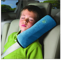 Wholesale Car Seat Lap belt Case Shoulder Pillow Guard Pad Sleep Cushion Safety for Kids Adults Seat Cushions