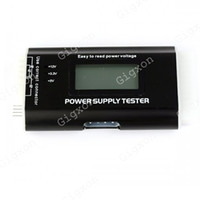 Wholesale PC LCD Pin PSU ATX SATA HD Power Supply Tester