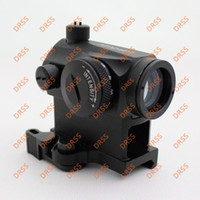 Wholesale Drss Airsoft T1 Red Dot with QD Mount Black Aimpoint Micro T Red Dot
