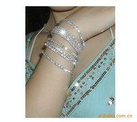 Wholesale Factory Direct Sale Flash Crystal Single row Stretch Bracelet Crystal Bracelet Korean Version Diamond