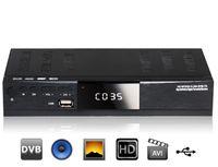 Receivers 欧标数字地面机顶盒  8901 MPEG4 DVB-T2 High-definition Digital TV Tuner Terrestrial Receiver Set-top Box (Black)