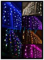 Wholesale Christmas led icicle lights Christmas tree lights decorative lamps drencher pendant lamp lights