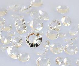 Wholesale On Sale Bargain Off price Merchandise Mixed Cut Clear Faux Acrylic Diamond Confetti Wedding Party Decor Wedding Favor Decoration Supplies