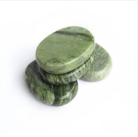 Wholesale Hot Stone Therapy Power Stone Rock stone massage body stone glaze jade