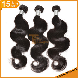 Wholesale 15 OFF Hot Cheap Unprocessed Virgin Hair Brazilian Peruvian Malaysian Indian Virgin Hair weave Human Hair Extensions Body Wave