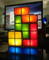 Animal tree face - Fashion Tetris Stackable LED Desk Lamp Tetris Lamp Party supplies