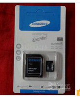 Wholesale sells SAMSUNG gb memory card gb CLASS TF SD Micro card adapter