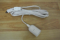 Wholesale US light cord with on off switch and E lampholder and feet long cable