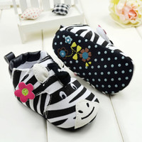 Wholesale Cartoon zebra shoes for girls and boys mothercare baby warm baby shoes home pairs seek for