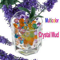 Wholesale Freeshipping About Bags Magical Crystal Mud Soil Water Beads for Flower Plant Multicolor Dropshipping