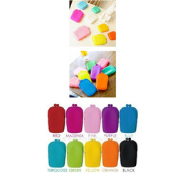 Wholesale Silicone Coin Purse Makeup Bags Purse Money Bag Wallet Cosmetic Storage Phone Cases Silica gel
