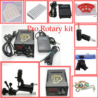 1 Gun rotary tattoo kit - Professional Rotary tattoo kit with dragonfly tattoo machine Beginner tattoo kit for tattoo