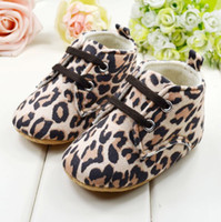 Wholesale Winter Leopard Baby First Walker Shoes with soft Sole Cotton Material infant Children Shoes