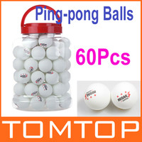 Wholesale 60Pcs Stars mm Olympic Ping pong Balls Best High Quality Table Tennis Balls Ping Pong Ball White H9780