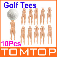 Wholesale Hot Sale New Arrival x Novelty Joke Nude Lady Goft Tee Divot Plastic Practice Training Golfer Tees Outdoor Sports Accessories H9924
