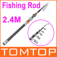 Wholesale New Arrival M FT Portable Telescope Fishing Rod Travel Spinning Fish Pole Outdoor Sports Tool Fishing Gadget H9794