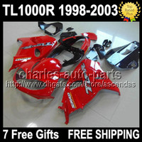 7gifts For SUZUKI gloss red TL1000R 98- 03 TL 1000 R TL 1000R...