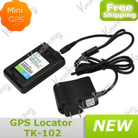 Wholesale Device Tracker Car Portable GPRS GSM System Real Time Mini For Vehicle Anti theft GPS New Real time Tracking Security Quad Band