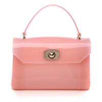 Wholesale 2014 new candy bag mini jelly candy bag boston silicone messenger bag shoulder bag women s handbag one shoulder cross body bag Small size