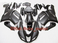 Wholesale ZX R Matt Black For NINJA ZX R ZX6R ZX R Gifts fairing kit ZX R