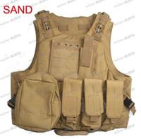 Wholesale LLFA3073 Amphibians combat Molle design Tactical vest WIRE STEEL IN
