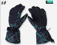 Wholesale 2013 Best Mens Black Winter Warmers Skiing Bickcle Bike Cycling Motorcycle Waterproof Sports Heated Gloves Size M XL High Quality