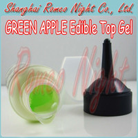 Wholesale 50 OFF Green Apple Edible Top Gel Water Based Lubricants Lube For Oral sex Vaginal sex and Anal sex